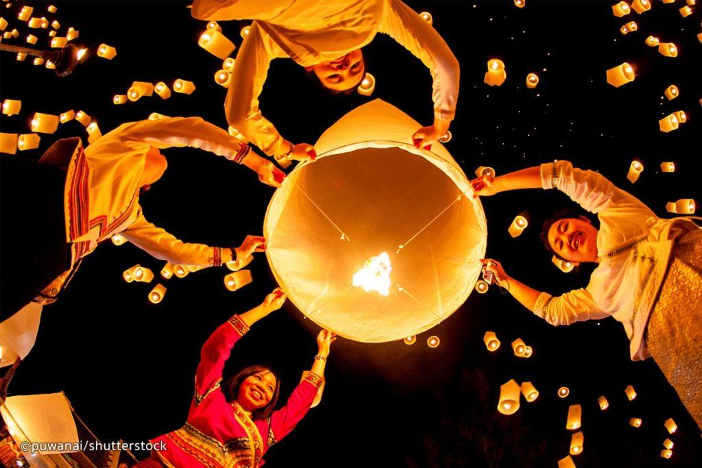 Lantern Festival (Yi Peng)