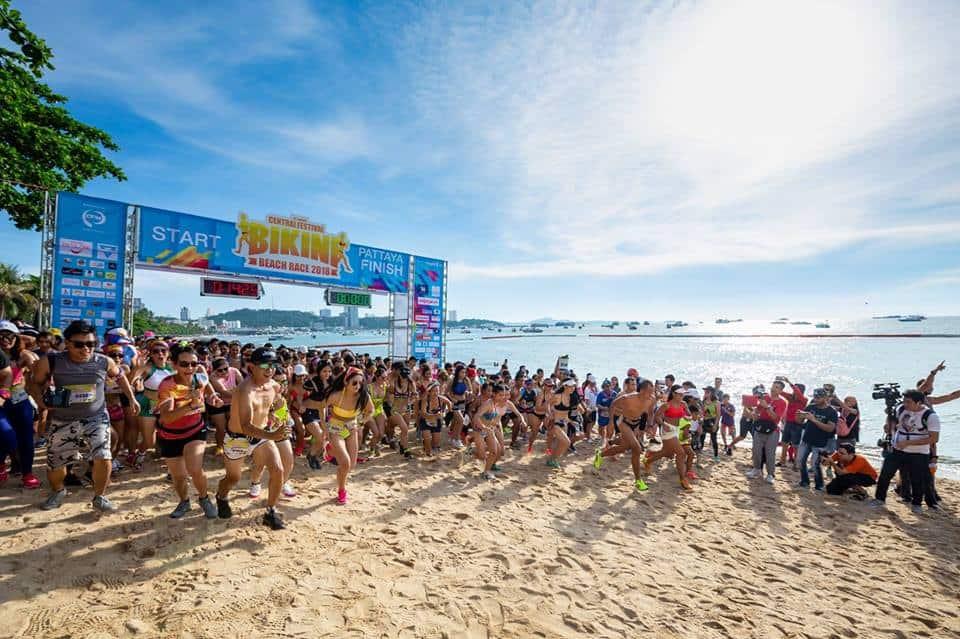 Pattaya's Central Festival Bikini Beach Race 2019