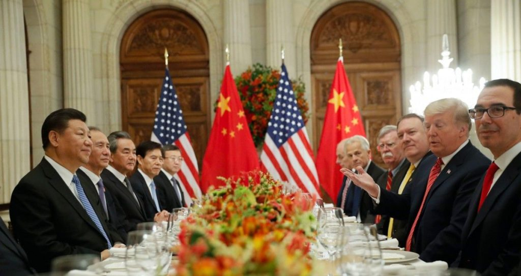 US-China trade meeting after the G20 summit