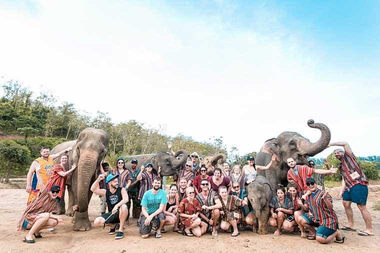 Elephant Jungle Sanctuary - Phuket