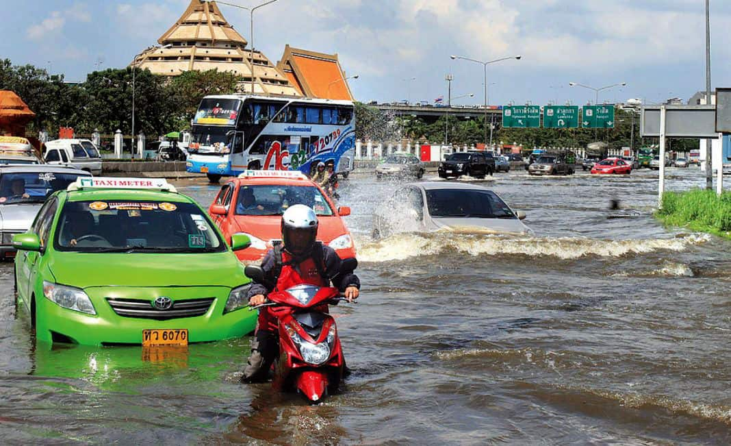 Bangkok 'Venice of the East' Continues to Sink