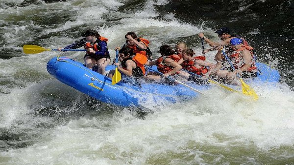 Khek River's Rapids